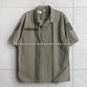 実物 USED オーストリア軍 プルオーバー ショートスリーブ フィールドシャツ メンズ ミリタリーシャツ 半袖 Tシャツ ゆったり 軍服 軍モノ【クーポン対象外】|waiper