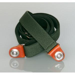 Elastic(グリーン)-- iPhone・スマートフォン・携帯電話ホルダーシステム waistrap ベルトパーツ|waistrap