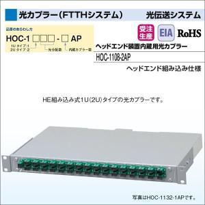 DXアンテナ 光伝送システム 光カプラー(FTTHシステム) ヘッドエンド装置内蔵用光カプラー HOC-1108-2AP|waiwai-d