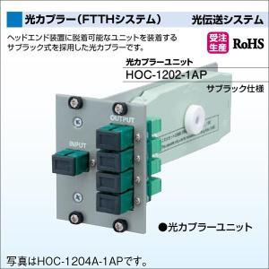DXアンテナ 光伝送システム 光カプラー(FTTHシステム) 光カプラーユニット HOC-1202-1AP|waiwai-d