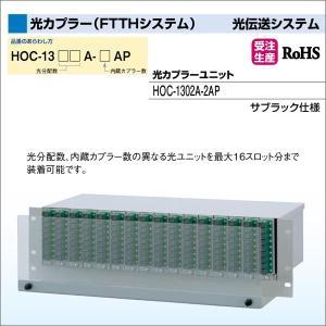 DXアンテナ 光伝送システム 光カプラー(FTTHシステム) 光カプラーユニット HOC-1302A-2AP|waiwai-d