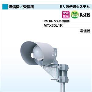 DXアンテナ ミリ波伝送システム(ビル陰衛星放送受信障害対策) ミリ波レンズ形送信機 MTX30L1K|waiwai-d