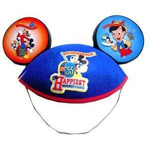 カリフォルニアディズニー 55周年限定商品 ミッキーの帽子 waiwaicompany