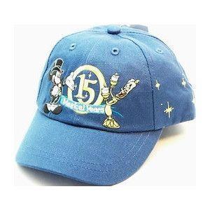 ディズニー パリ15周年記念 帽子 子供用 青|waiwaicompany