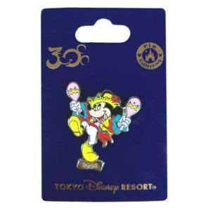30周年 東京ディズニーリゾート コレクショングッズ ミッキーのコレクタブルピン NO7|waiwaicompany