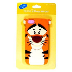 ディズニー 東京ディズニーリゾート ティガー柄スマートフォンケース。i phone5対応。16GB、...