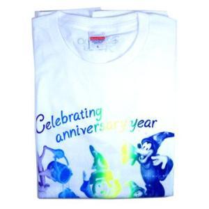 ディズニー ミッキー等の柄のTシャツL D23 EXPO JAPAN・2013限定 東京ディズニーランドリゾート|waiwaicompany