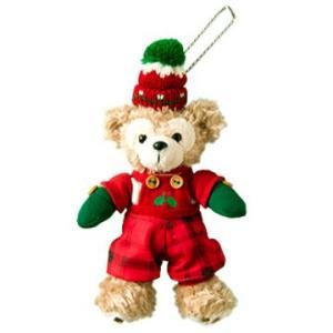 SALE  ダッフィー  クリスマス ダッフィーの赤いコスチュームのぬいぐるみバッチ 2013年11月1日発売|waiwaicompany