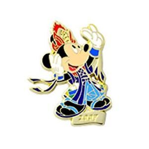 30周年 東京ディズニーリゾート コレクショングッズ 第五弾 ミッキーのコレクタブルピン NO25|waiwaicompany