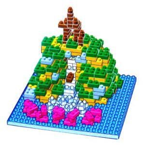 ナノブロック ディズニー スプラッシュマウンテンの箱入りナノブロック 東京ディズニーリゾート   waiwaicompany