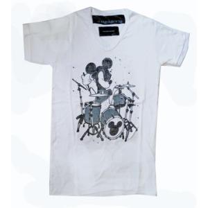 東京ディズニーリゾート +8PARIS ROCK×金子ノブアキ コラボTシャツ レディースM|waiwaicompany