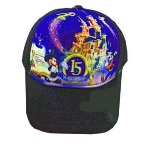 超レア商品 ディズニー パリ15周年記念 帽子 大人用 黒|waiwaicompany