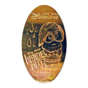 香港ディズニーランド スーベニアメダル インサイドヘッド(かなしみ)|waiwaicompany