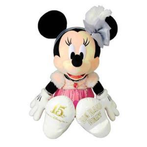 東京ディズニーシー 「ビッグバンドビート」のスペシャルグッズ、ミニーのぬいぐるみです。  今年リニュ...