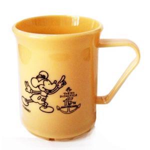東京ディズニーシー 15周年ザ イヤー オブ ウィッシュ グランドフィナーレ BEAMSプロデュース ベージュ色のカップ|waiwaicompany