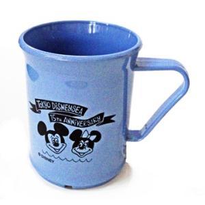 東京ディズニーシー 15周年ザ イヤー オブ ウィッシュ グランドフィナーレ BEAMSプロデュース ブルー色のカップ|waiwaicompany
