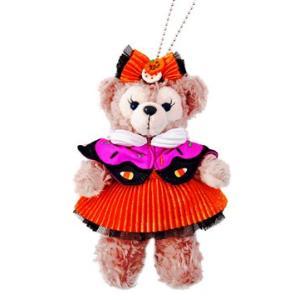 東京ディズニーシー 2017 ダッフィーのハロウィーン お菓子の仮装 ぬいぐるみバッジ シェリーメイ|waiwaicompany