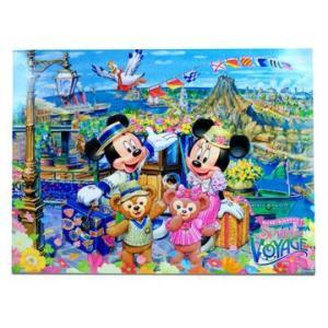 ディズニー ダッフィーとシェリーメイのスプリングヴォヤッジ ダッフィーとミッキー、シェリーメイとミニーが映っているフォト B 東京ディズニーシー|waiwaicompany