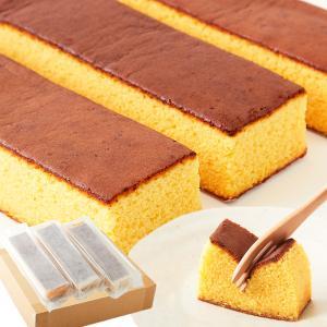 メチャ安 本場長崎のプレーンカステラ大容量1kg(3本セット)|waiwaiplaza
