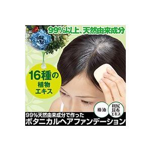99%天然由来成分で作ったボタニカルファンデーション 髪にやさしいものだけで作ったヘアファンデ メール便送料無料|waiwaiplaza