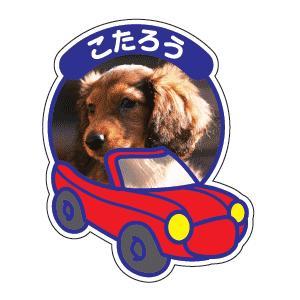 乗車型ペットシール ラミ有A4サイズ インクジェット出力 マシンカット|waka-shop