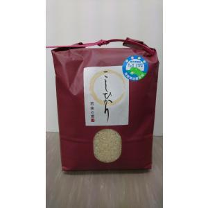 白米3kg H29年福井県産  特別栽培米認証1 こしひかり 若狭の恵|wakasa-megumi