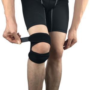 膝サポーター 左右兼用 1枚組 ヒザサポーター フリーサイズ 男女兼用 wakasugi2012