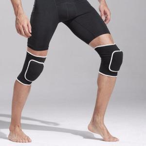 膝サポーター ニーパッド 2個入 フリーサイズ 色はブラックのみ wakasugi2012