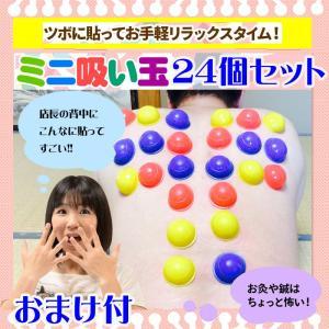 ミニ吸い玉 24個セット おまけ 磁気ハンドウォーマー|wakasugi2012