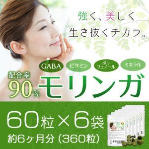モリンガサプリメント 6袋セット 合計360粒 日本製 酵素サプリ30粒おまけ メール便送料無料|wakasugi2012