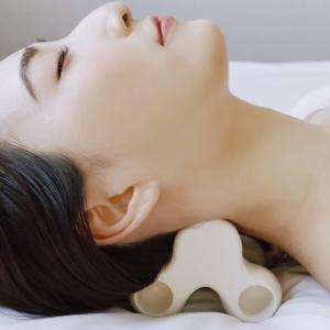 ネックピロー 首枕 ネックストレッチ ツボ押し マッサージ もみ 頸椎 肩 首 腰 脚 足 リフレッシュ |wakasugi2012