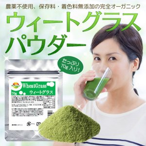ウィートグラスパウダー 70g 小麦若葉 注目商品 メール便発送|wakasugi2012