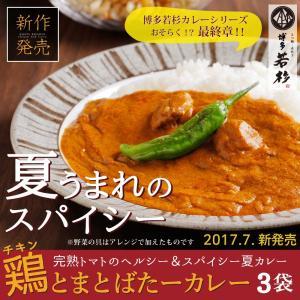 鶏とまとばたーカレー (3食セット) チキンカレー レトルト...
