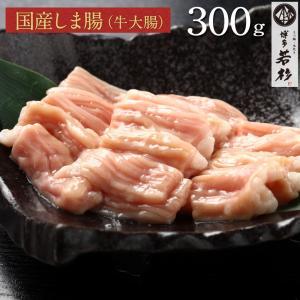 しま腸 300g(150g×2) シマ腸 国産 牛ホルモン もつ鍋 追加具 バーベキュー BBQ 焼...