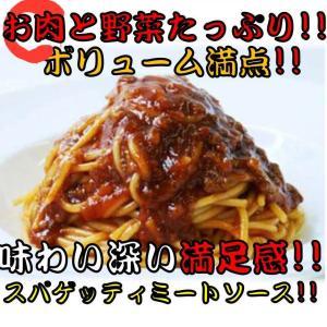 【電子レンジで簡単調理】 レンジ用 スパゲッティ ミートソース 310g 12袋入り 冷凍 パスタ ...