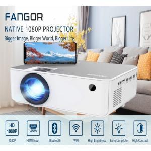 プロジェクター 家庭用 小型 WIFI接続 bluetooth 5500ルーメン 1080PフルHD対応 FANGOR