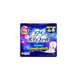 ソフィ ボディフィットスーパーナイトガード 羽つき  29cm  9枚 生理用品 ナプキン
