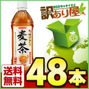 サンガリア すばらしい麦茶 500ml×48本 ケース販売 500mlペットボトル お茶 近畿A宅配便B