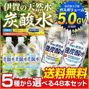 2ケース48本セット 選べる 国産 伊賀の天然水 炭酸水・レ...