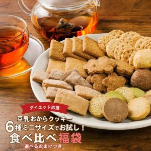 ※期限間近※ 訳あり食品 わけあり お試し 豆乳 おからクッキー 6種食べ比べ 福袋 おまけ付き 送...