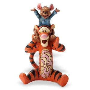 Enesco Disney Traditions by Jim Shore Tigger and Roo Figurine, 4.5-Inch|wakiasedry