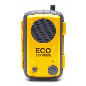 ECOXGEAR アウトドア スピーカー搭載 防水パック ECO EXTREME イエロー GDI-AQCSE104|wakiasedry