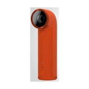 HTC RE 16MP 防水 HD デジタルビデオカメラ 広角レンズワイヤレス (Orange オレンジ)|wakiasedry