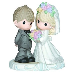 Precious Moments Bride and Groom Figurine|wakiasedry