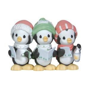 Precious Moments Wee Three Sing Figurine