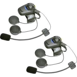 SENA SMH5D-FM-01 FMラジオチューナー内蔵型 Bluetoothバイクインカム 2台セット