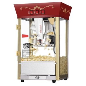 Great Northern Popcorn Red Matinee Movie Theater Style 8 oz. Ounce Antique Popcorn Machine ポップ|wakiasedry