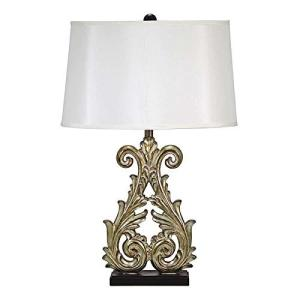 Design Toscano Crowne Essex Table Lamp (Set of 2), 18 x 11 x 28.5'|wakiasedry