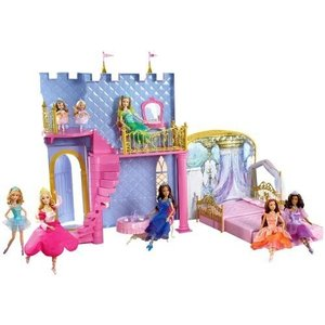 Mattel - Barbie 12 Dancing Princesses Castle by Barbie|wakiasedry
