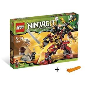 レゴ ニンジャゴー サムライ・ロボ 9448 + レゴ 630 ブロックはずし(プレゼントし)
